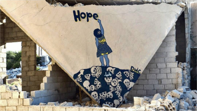 'Syrian Banksy,' Is Spreading Hope in His War-Torn Country