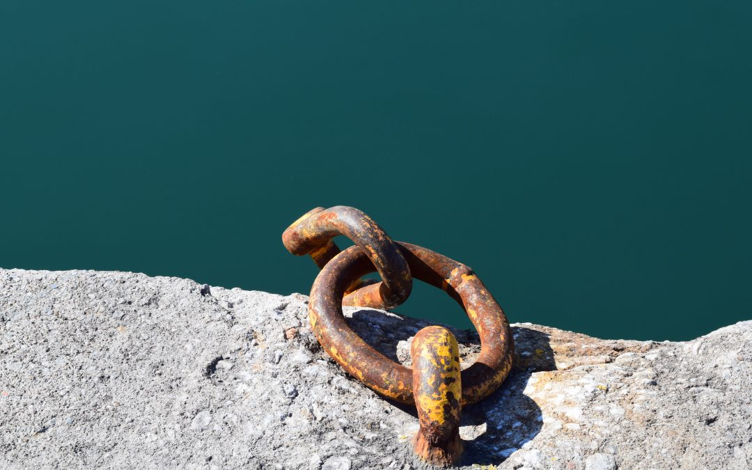 chain near water